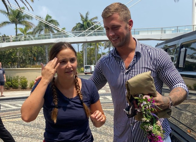 I m A Celebrity Queen of the jungle, Jacqueline Jossa with husband Dan Osborne