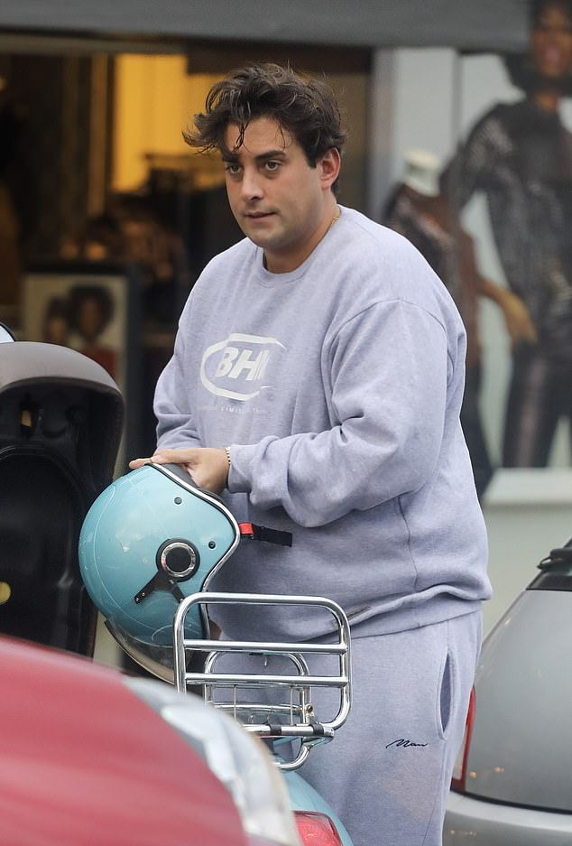 Health scare:Friends of TOWIE star James Argent have voiced concern over his welfare after he was admitted to hospital on Wednesday amid fears over a drug overdose (pictured last month)