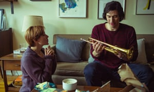 Scarlett Johansson and Adam Driver in Baumbach's latest, Marriage Story.