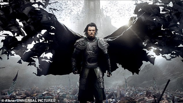 Very different take: In 2014,Luke Evans played the character in action-flick Dracula Untold