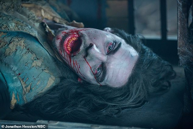 On the box: Jonathan Rhys Meyers played the vampire in 2013 NBC TV series Dracula