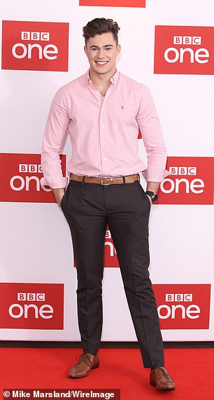 New face: The 2020 series will also feature Love Island's Curtis Pritchard, who will serve as a receptionist