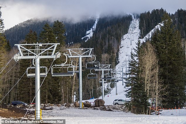 Starting in 2011, Arizona Snowbowl (pictured above), a resort outside Flagstaff, Arizona began using treated sewage water for its artificial snow machines