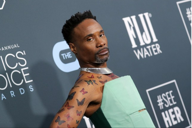 Mandatory Credit: Photo by John Salangsang/REX (10521936co) Billy Porter 25th Annual Critics' Choice Awards, Arrivals, Barker Hanger, Los Angeles, USA - 12 Jan 2020