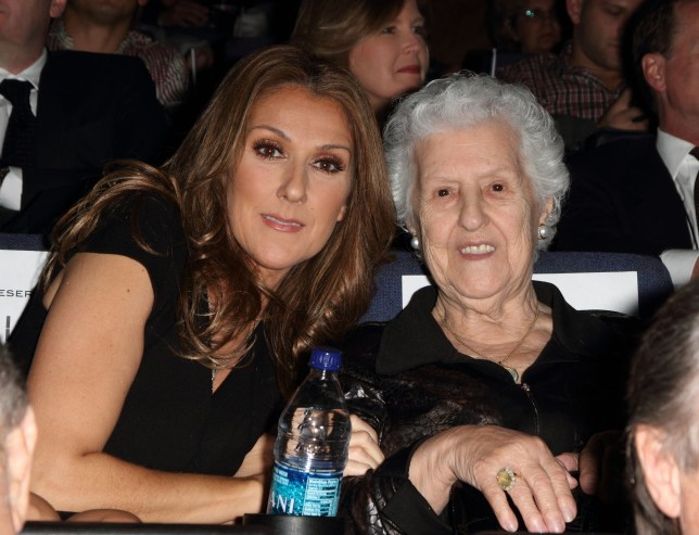 Celine Dion and Therese Tanguay Dion