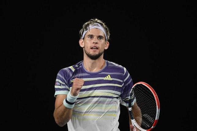 Dominic Thiem beat Alexander Zverev in the Australian Open semi-finals