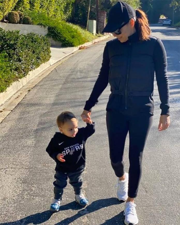 Eva Longoria, Son, Santiago, Instagram