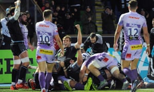 Glasgow Warriors and Exeter played out a draw.