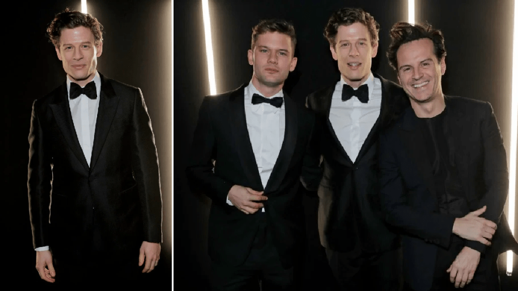 James Norton, Andrew Scott, and Jeremy Irvine