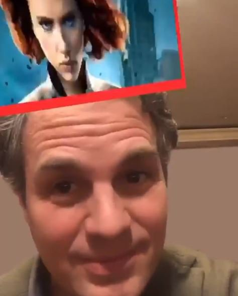 Mark Ruffalo's reaction to Avengers filter is way too pure