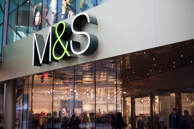 M&S store front