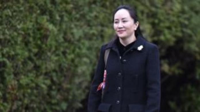 Meng Wanzhou leaves her Vancouver home on Monday