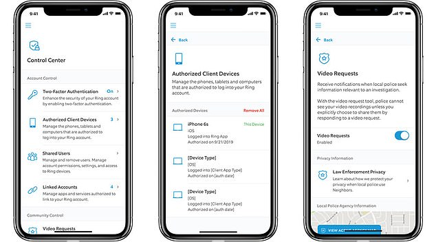 Ring is releasing new privacy controls to its app days after it was found to be sending user data to companies like Facebook and Google