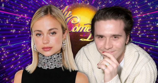 Brooklyn Beckham Lady Amelia Windsor Strictly Come Dancing