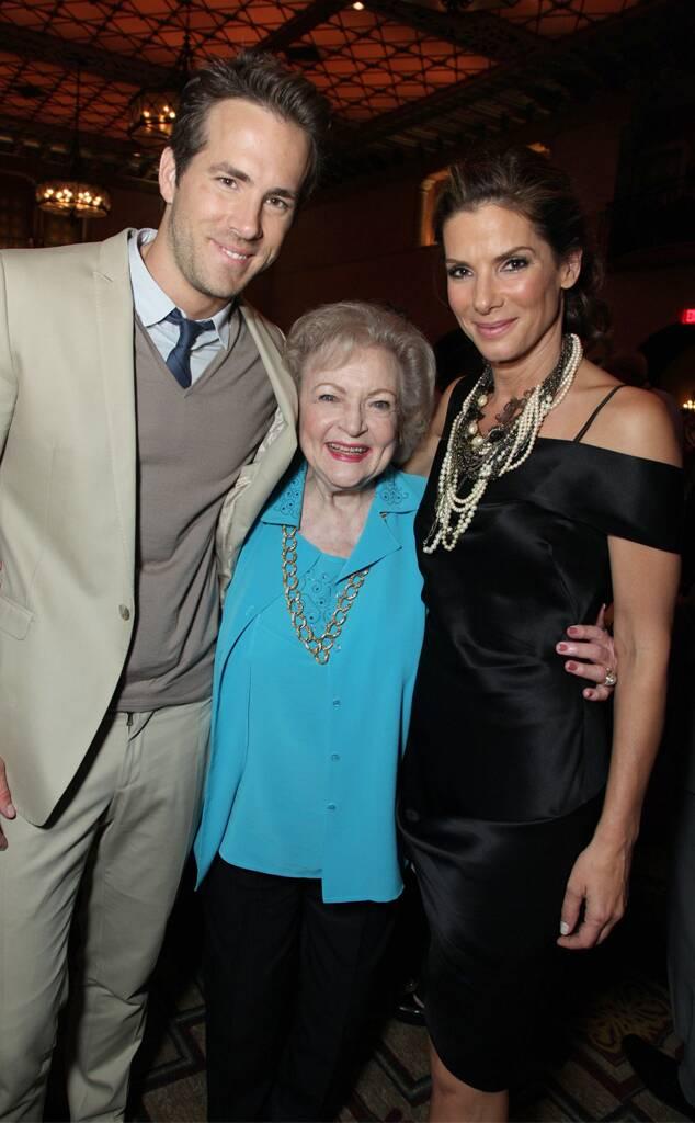 Ryan Reynolds, Betty White, Sandra Bullock