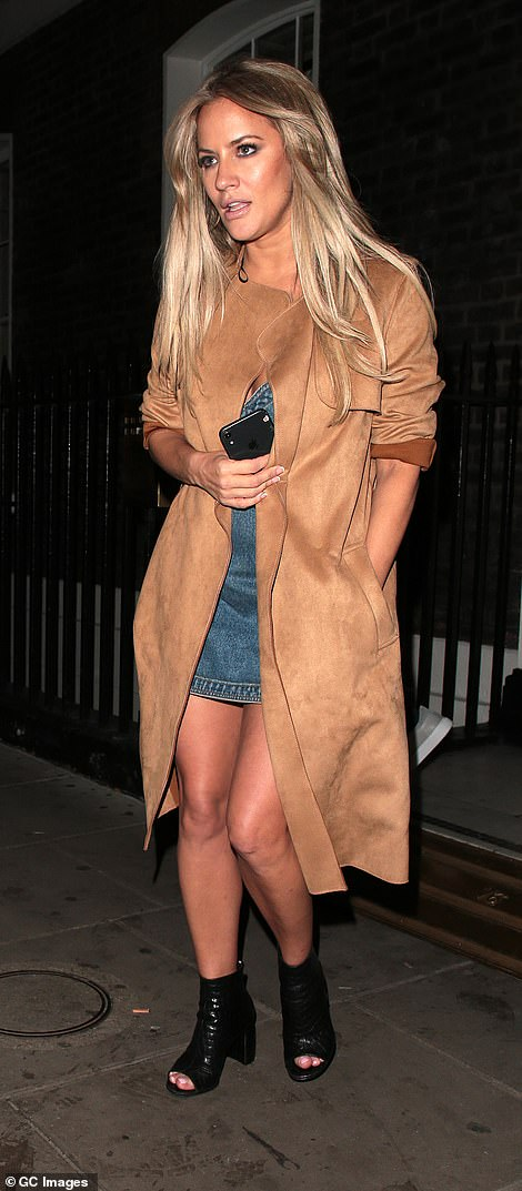 No show: Caroline has been keeping out of the spotlight since, battling her personal issues [pictured last September]