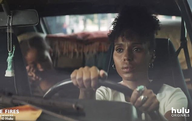 More is then revealed about Washington's character: Mia is caring for her daughter and at one point seems to be living out of her car