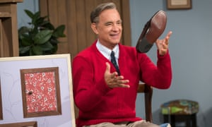 Tom Hanks stars as Mister Rogers A Beautiful Day in the Neighborhood.