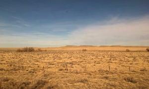 View from near La Junta, Colorado