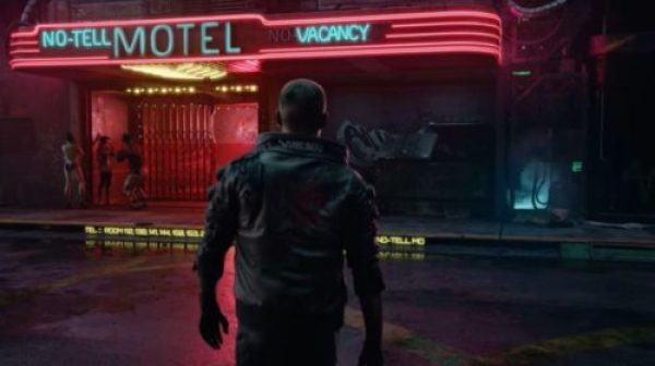 Cyberpunk's Night City is a futuristic dystopian metropolis that has echoes of Bladerunner.