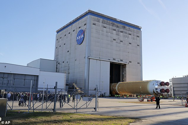 The core rocket stage of the so-called 'Space Launch System' (SLS) was constructed at NASA's Michoud Assembly Facility in New Orleans