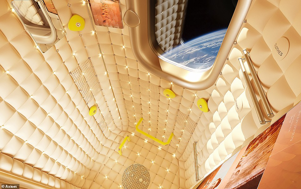 Axiom Station crew quarters will provide a certain degree of Paris Hilton-esque bling, courtesy of French designer Philippe Starck, who designed Steve Jobs' luxury yacht the Venus