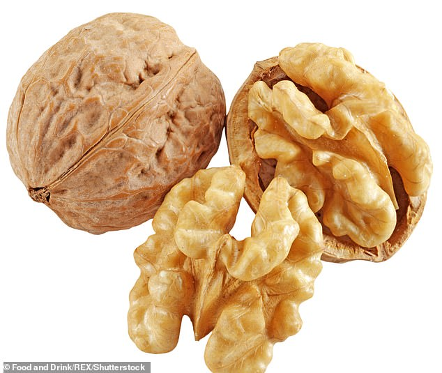 'Nuts, especially walnuts, are packed with essential fatty acids and omega-3s, which protect cells, limit free-radical damage from environmental factors such as pollution', says dietitian Jane Clarke