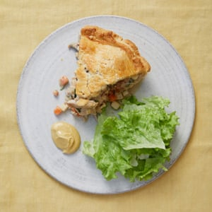Merlin Labron-Johnson's hunter's pie with cider and tarragon.
