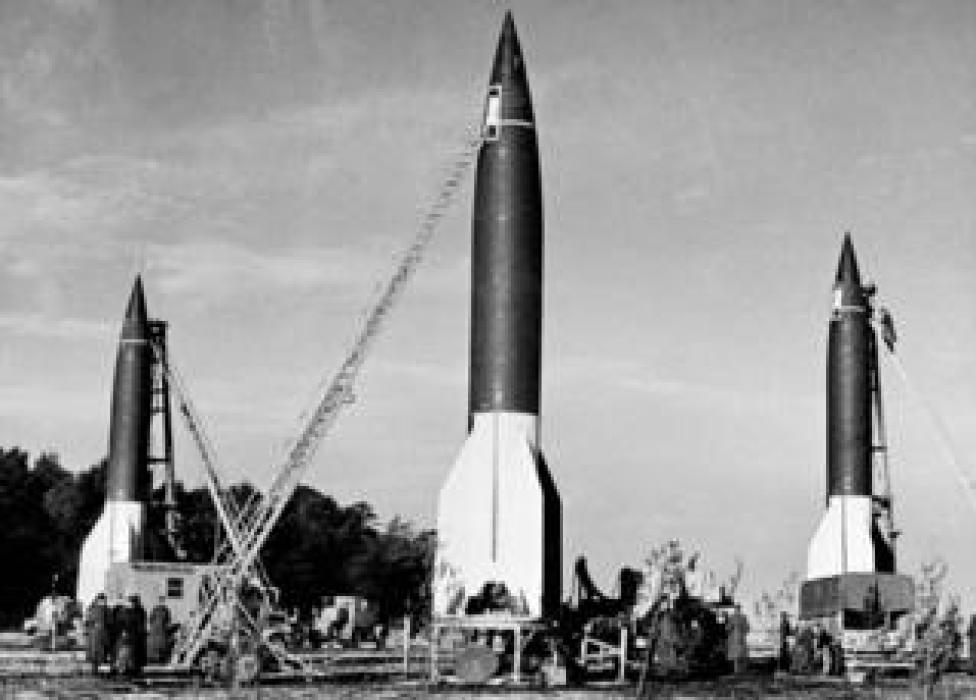 Launching site for V2 rockets in Germany
