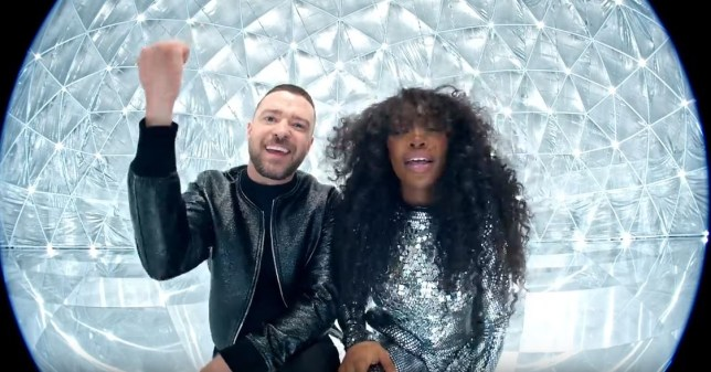 Justin Timberlake and SZA in The Other Side