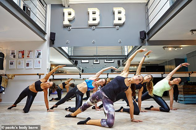 She has signed up to a grueling training regime at PBB gym - including drinking green juice which looks like pond water