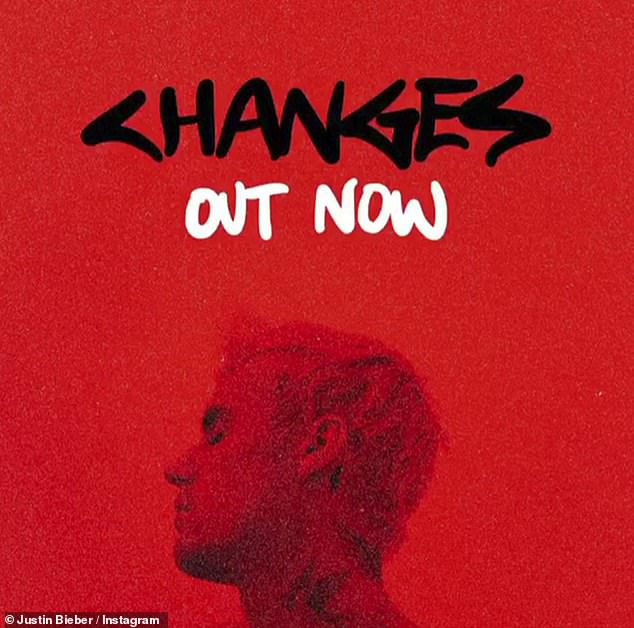 Back in the game: The pop superstar has been out in force promoting his new studio album Changes in recent weeks