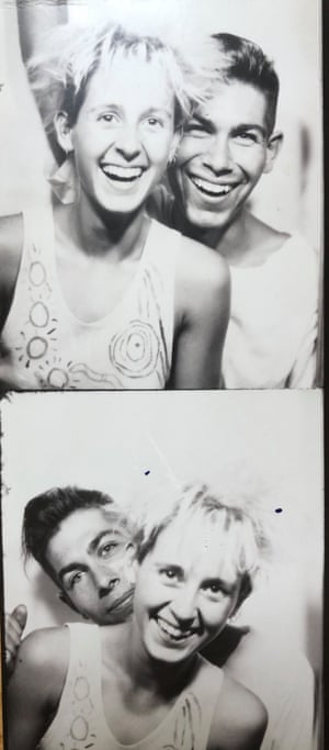 Sarah Munn and David Swain in 1984