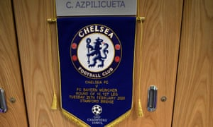 The scene in the Chelsea dressing room, just now.