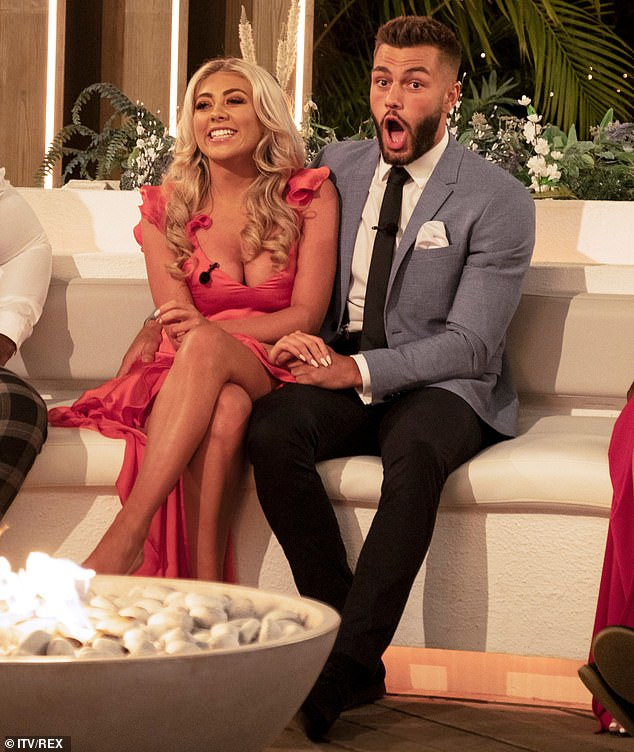 Funny: During their appearance in the Love Island final, Finn hilariously hinted that he was already thinking about marriage with Paige