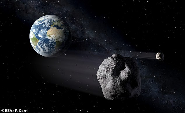 The researchers used a library of imaginary hazardous asteroids to train the neural network in how to identify possibly dangerous asteroids in the real world
