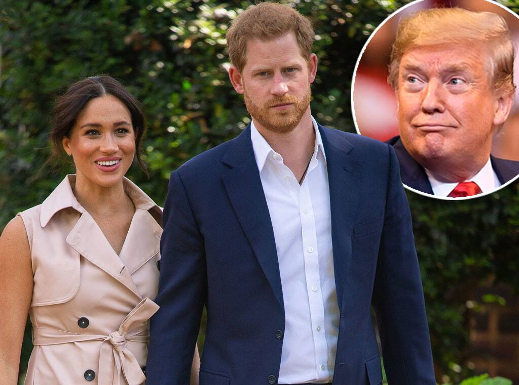 Prince Harry, Meghan Markle, Duchess of Sussex, Donald Trump