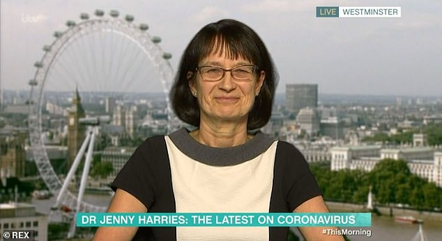 Dr Jenny Harries, deputy chief medical officer to the Government, said officials did not want to make people change their lives for unnecessarily long periods of time but they also need to avoid a second big wave of infections like the country is experiencing now