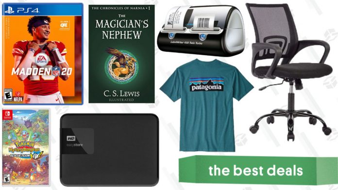 Kindle credit, $ 52 Office Chair, B2G1 Video Games, and more