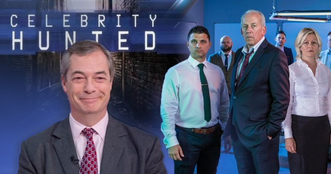 Nigel Farage Celebrity Hunted
