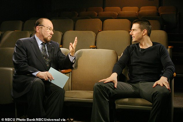 Never turned down: Lipton with the actor Tom Cruise in 2004
