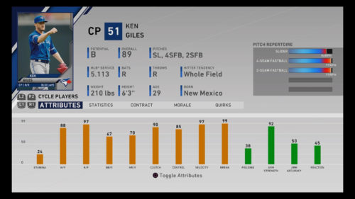 MLB The Show 20 Ken Giles Diamond Dynasty Closing Pitcher RTTS Franchise Mode