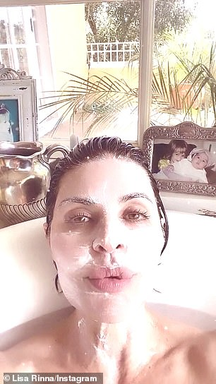 The Real Housewives of Beverly Hills star Lisa Rinna urged her fans to social distance for two weeks and she suggested getting into shape, wearing face masks, and watching musicals like Gypsy