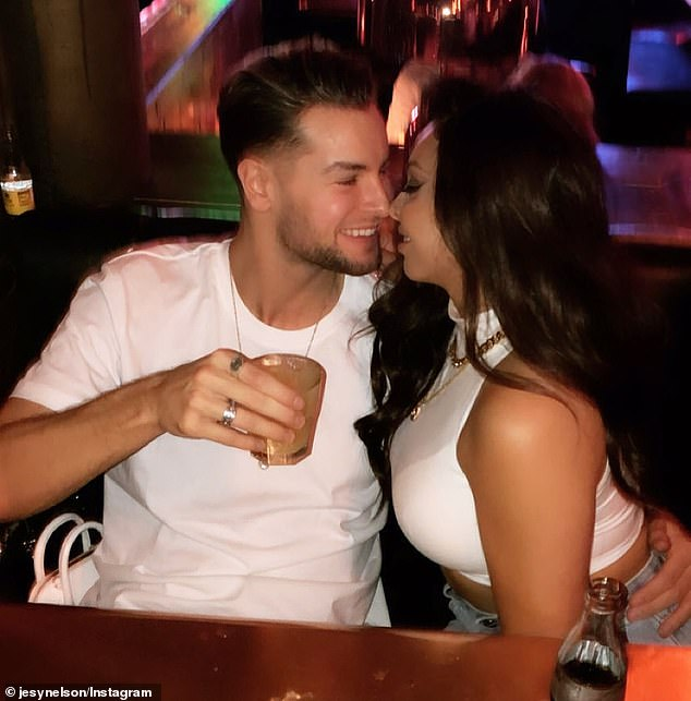 Tough times:Jesy Nelson and Chris Hughes have split