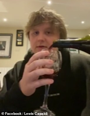 Really? Lewis Capaldi, 23, has admitted he gets insulted when people say he looks like Boris Johnson