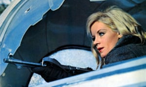 'It depends on plot and scenario much more than it does on explosions' … Mary Ure in Where Eagles Dare.
