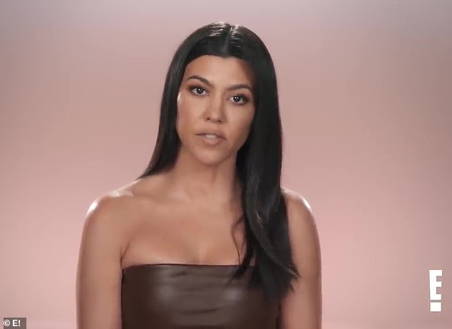 Different strokes: Kourtney offered more insight during her confessional, telling the cameras 'I don't understand why there's all of this judgement about the way that we each want to live our lives'