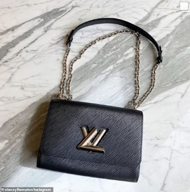 She's okay without!Her generous charity donation after selling the expensive designer handbag finally confirms Stacey really does not need Michael's money. Pictured: The bag