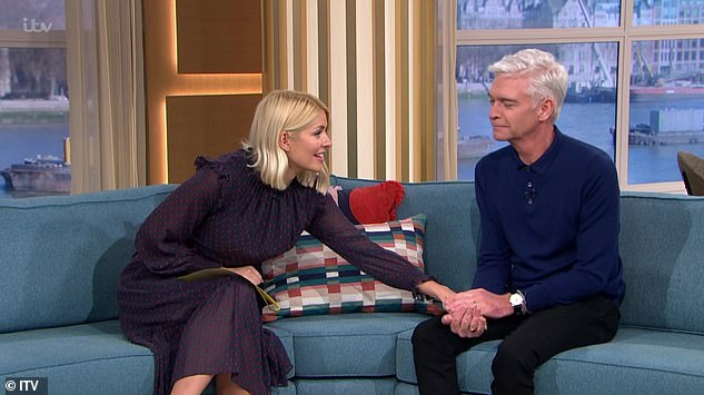 Friends til the end:It's been quite a year for the pair thus far, after Phillip announced in January that he was gay, in a live chat with Holly on This Morning