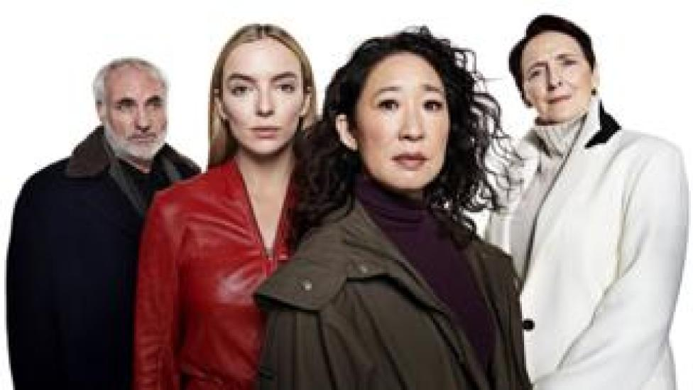 The cast of Killing Eve